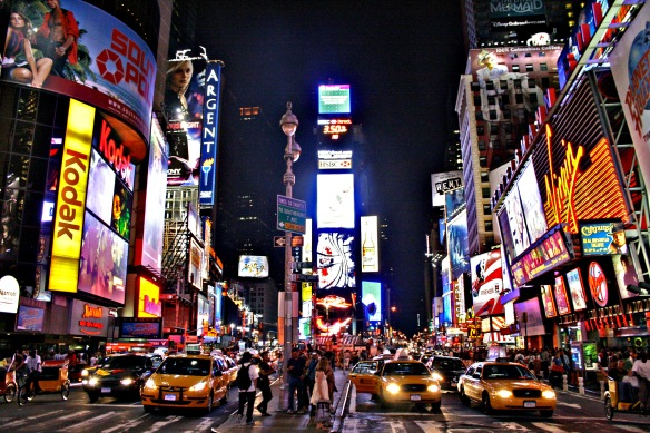 Times Square At Night. It Doesn't Get Much Better.
