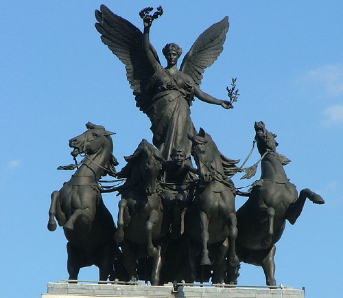 The Wellington Arch-My Favourite Sculpture