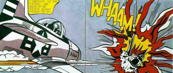 'Whaam!' by Roy Lichtenstein